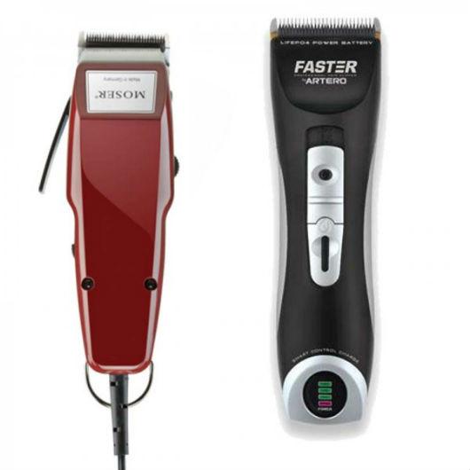 La mayoría de las peluquerías tienen mas de una máquina de cortar el pelo