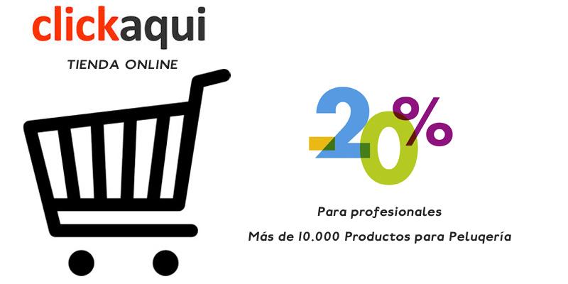 Web de productos de peluquería para Profesionales