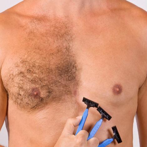 afeitado corporal masculino