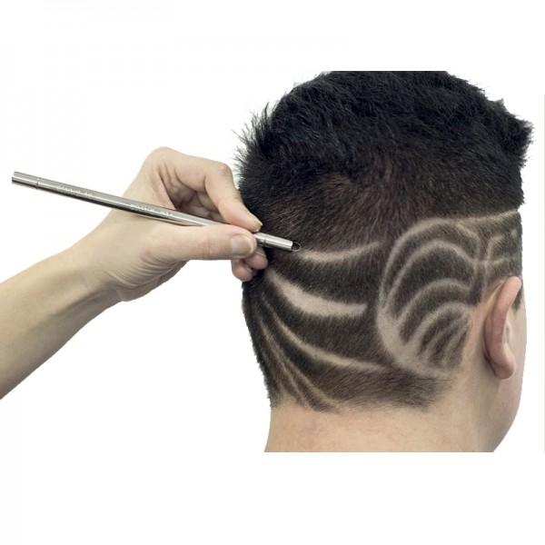 Con los cortapelos podemos hacer tatuajes en el pelo